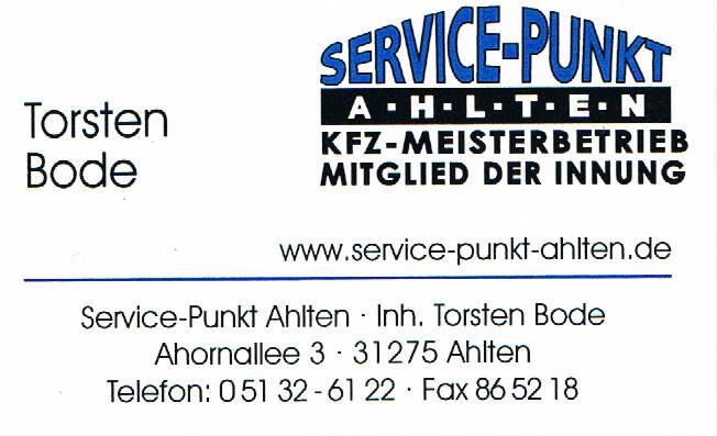 Service-Punkt Ahlten